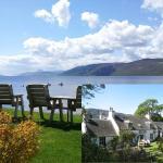 Great food, fantastic views of Loch Ness
