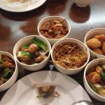 Selection of dishes