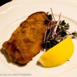 Hotel Wolf - small Weinerschnitzel with Lemon Slice