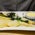 Hotel Wolf - White Asparagus (sparkle) with potatoes and Hollandaise