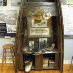 Fishing paradise display with history of the rise and demise of Lake Apopka.