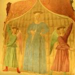 Affresco della Madonna del Parto di Piero della Francesca