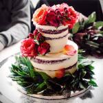 Red velvet cake for laurea
