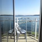 Balcon sur la mer