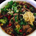 Chili beef noodle❤️