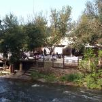 The al Fiume Restaurant from Across the Hennops River.