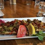 Tartines légumes