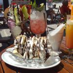 Cocktails and Ice-Cream sundaes