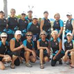 Fourteen women and eight men on the the Marathon race team. These are the ladies!!!