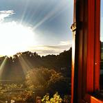 Al alba desde la habitación Torre