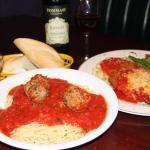 Chicken Parm & Spaghetti