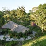 Chan Chich hotel grounds