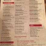 Toreado Mac & Cheese Burger $8.50 and menus.