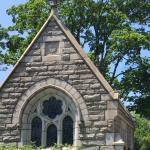 Entrance to Cedar Hill Cemetery in Hartford, Connecticut
