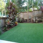 private fenced back yard (great for kids)