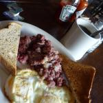 Luna Grill And Diner - breakfast