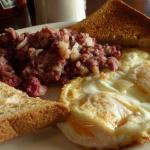 Luna Grill And Diner - cooked breakfast