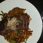 Black pepper sirloin