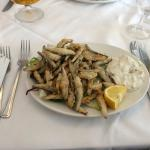 Superb, and generous portion, Whitebait starter