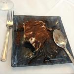 Tiramisu - very good, in keeping with the rest of the meal