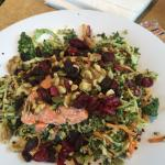"""Super Slaw Salmon Salad"" Portions of proceeds go to MD Anderson Cancer Center"