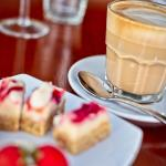 The best coffee on Tedder with a delicious selection of cakes and slices!