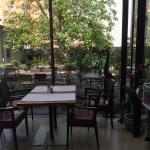 Restaurant Wintergarten und Innenhof
