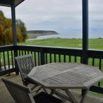 Outside view - floor to ceiling windows & a sliding door so you can see this from the living roo