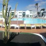 Vista panorámica piscina