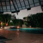 Pool - NIght scenery