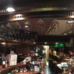 a view of the pub from the seating at the counter