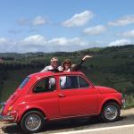 Fiat Fun in Chianti