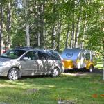 Campsite at Tetsa River