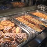 Breakfast Buffet in water park complex
