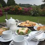 Afternoon Tea at Trimstone Manor - simply delicious !