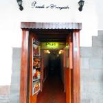 Entrance to Plus Restaurant
