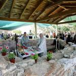 Λειτουργία στο παλαιό μοναστήρι της Μονής Μεταμορφώσεως