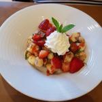 Strawberry Panzenella dessert