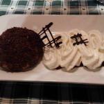 Dessert sur repas demi pension