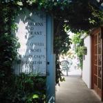 Entrance to The Cosy Nook, Crantock.
