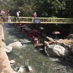 Zonas de recreo a los pies del rio