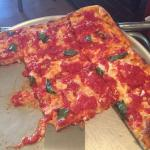 It's hard to find Grandma's pizza.IIt was delicious.Make sure you get a corner piece