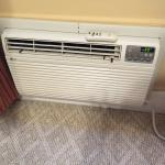 Air conditioner in the bedroom area that did not work