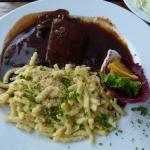 Restaurant Palmscher Bau - Sauerbraten mit Spätzle
