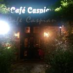 Front of Cafe Caspian