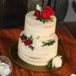 Our beautiful and delicious wedding cake from Jana's Bake Shop