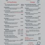 The Outlook Cafe Menu Pg 2