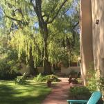 This bed and breakfast has beautiful grounds and views of the mountains ! We loved it here!