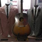 Carter and Ralph Stanley's outfits and Carter's guitar