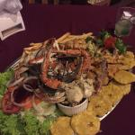 Seafood platter was up there with the best Iv had